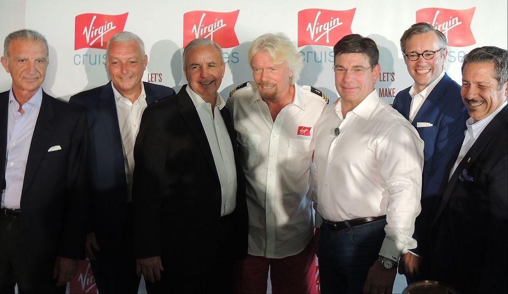 Virgin Cruises to order three 110,000 gross ton ships, first to be based at Miami