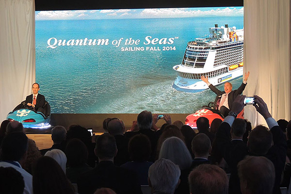 Royal Caribbean reveals groundbreaking Quantum-class ships