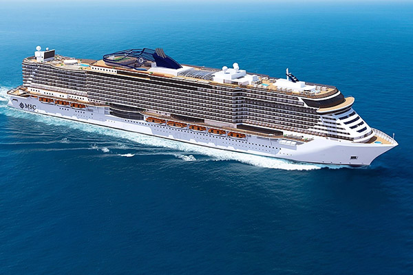 MSC Cruises and Fincantieri announce two newbuilds plus one option