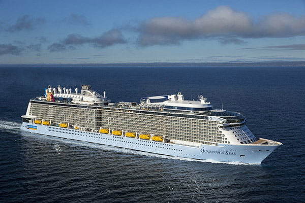 Quantum of the Seas delivered