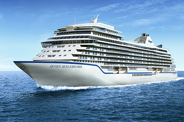 Regent unveils first visual of new Seven Seas Explorer and launches dedicated ship microsite