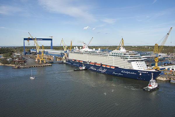 TUI Cruises orders two ships at Meyer Turku