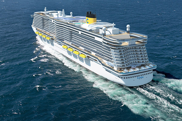 Two innovative ships for Costa Cruises as part of multi billion contract with Meyer Werft